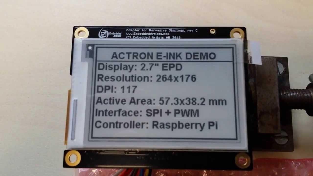 Display Videos | Embedded Lightning