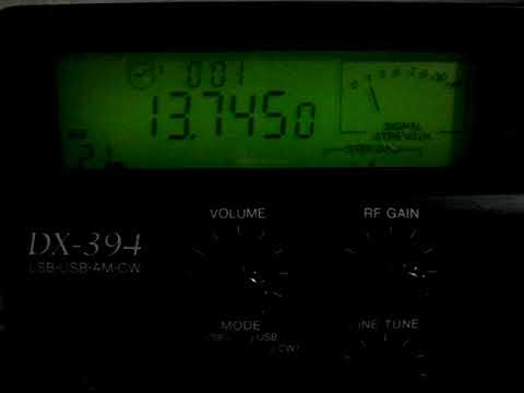 Radio Thailand (English service) 13745 KHz