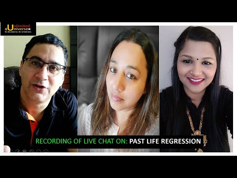 Recording of - Live Discussion on Past Life Regression