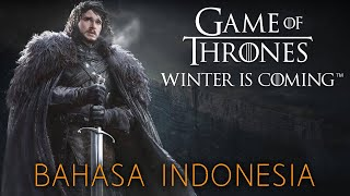 Akhirnya Rilis di Playstore! - Game of Thrones Winter is Coming (Android)