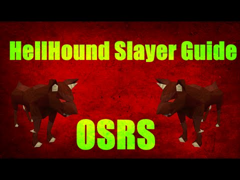 Hellhound Slayer Guide 2007 Location + Cannon Method Oldschool Runescape (OSRS)