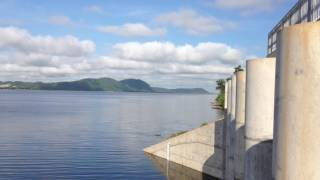 Landscape of Komping Puoy Reservoir,ទេសភាពនិងជីវភាពរស់លើអាងកំពីងពួយ#4
