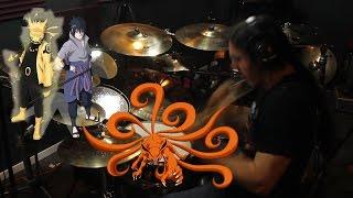 Kin | Naruto Shippuden | Flow | Niji No Sora | Drum Cover (Studio Quality)