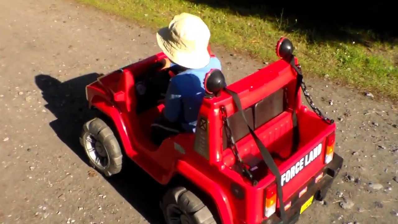 Jeep , ride a jeep , zabawki dla dzieci , nauka jazdy