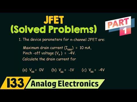 JFET Solved Problems (Part 1)
