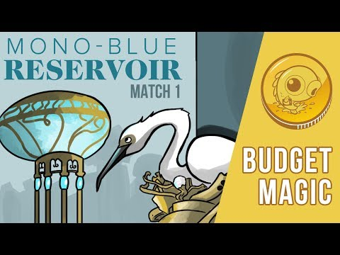 Budget Magic: Mono-U Reservoir vs Abzan Revolt (Match 1)