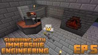 Surviving With Immersive Engineering :: Ep.5 - Chemical Thrower and Bottling Machine