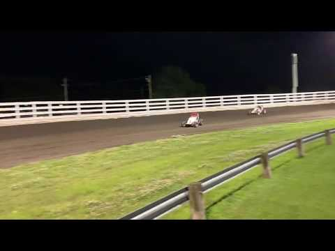 Southern Iowa Speedway Non Winged Sprint Car Feature 6-26-19