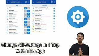 Smart Quick settings app Full Review in Hindi screenshot 4