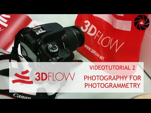 3Dflow Academy - Videotutorial 2 - photography for photogrammetry