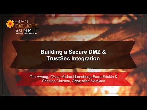 DMZ & TrustSec Integration- Cisco & Booz Allen Hamilton Team