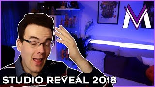 MY STUDIO REVEAL + STATE OF THE CHANNEL 2018 | MasakoX