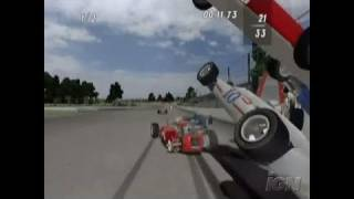 Indianapolis 500 Legends Nintendo Wii Video - Gameplay