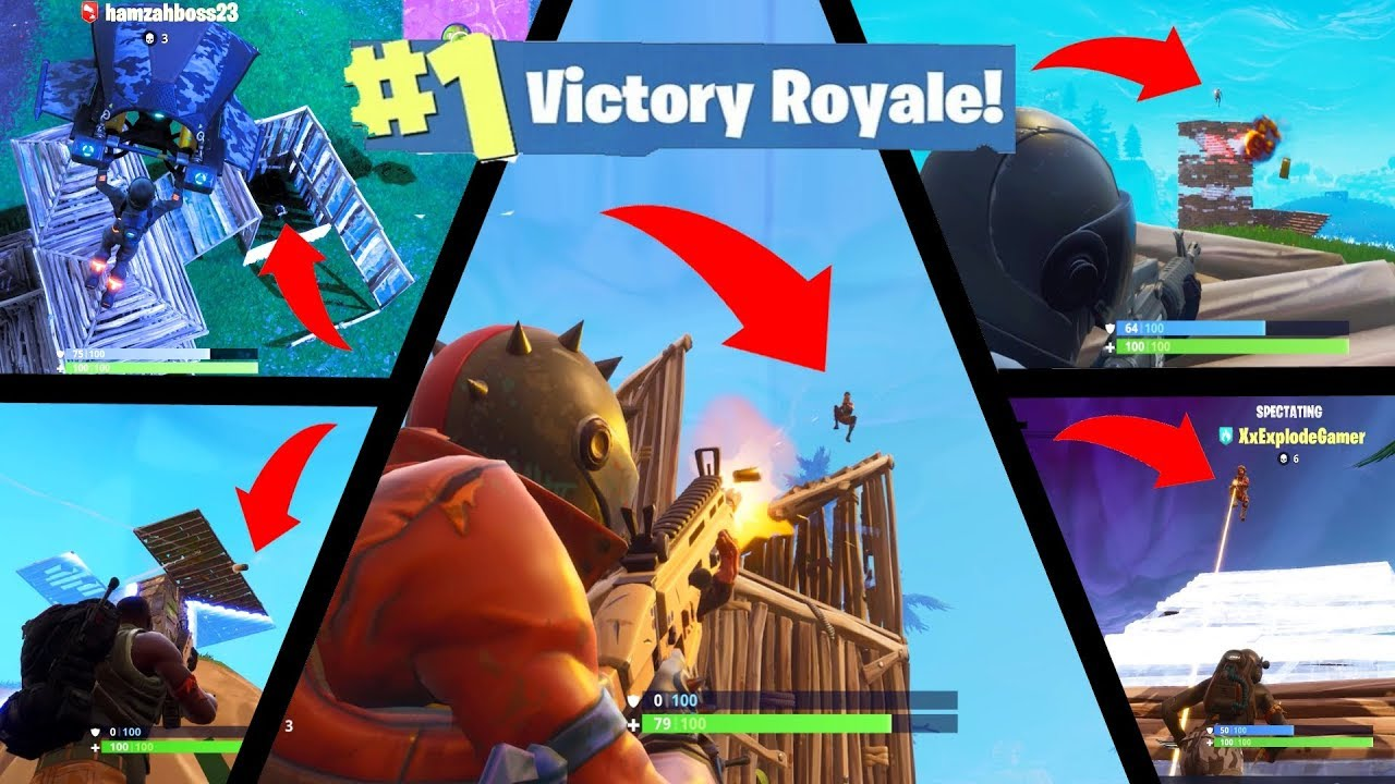 Fortnite: Battle Royale Crazy Victory Royales Episode 1