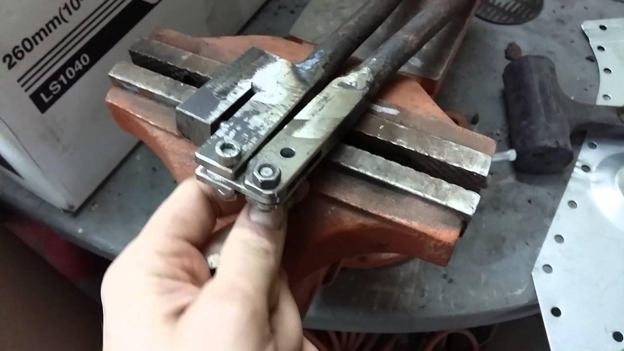 Сделать дырокол по металлу своими руками
