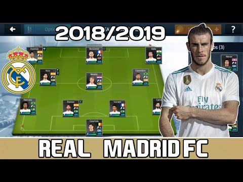 0739350f6c4643 Real Madrid FC 2018/19 Save Data | Dream League Soccer - YouTube
