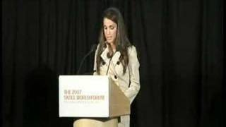 2007 Skoll World Forum - Her Majesty Queen Rania Al-Abdullah