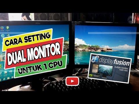 DND- UYEH Tutorial Menggunakan Dual Monitor Cara mengaktifkan 1 laptop 2 monitor |Monitor ekternal|#.