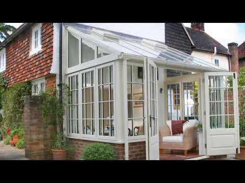 Modern Wooden Lean to Conservatory Ideas