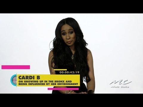 Cardi B on Her Bronx Background