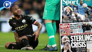 La blessure de Raheem Sterling affole l'Angleterre | Revue de presse