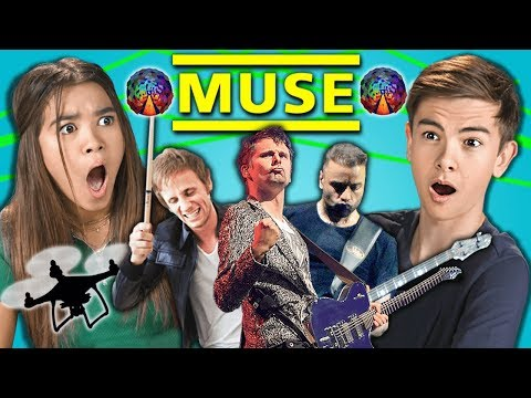 Teens React To Muse (Rock Band - Starlight, Uprising, Algorithm)