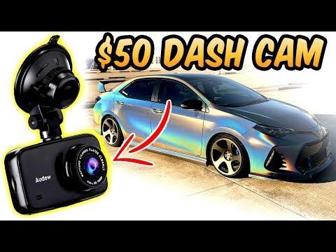$50 Dash Cam 1080P Night Vision Audew Review