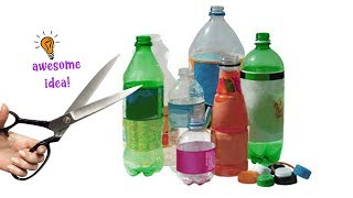 5 CREATIVE WAYS TO RECYCLE/REUSE YOUR PLASTIC BOTTLES|Best Reuse Ideas