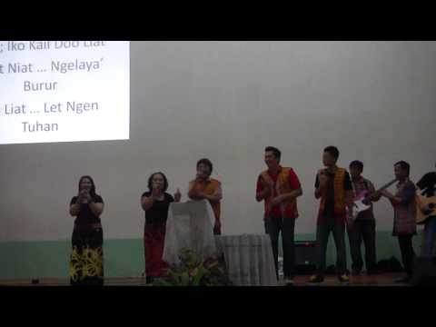 Lagu Kelabit. Roh Tuhan Innah Liat Travel Video