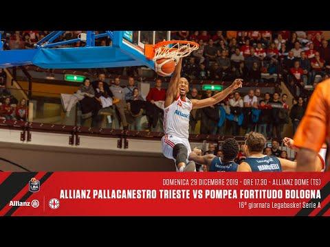 Allianz Pallacanestro Trieste Vs Pompea Fortitudo Bologna | LBA 16° Giornata