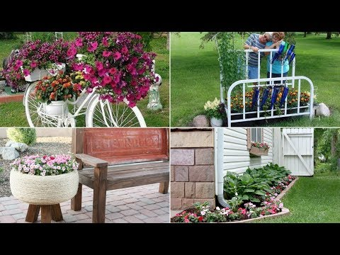 10 DIY Flower Bed Ideas