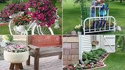 10 DIY Flower Bed Ideas