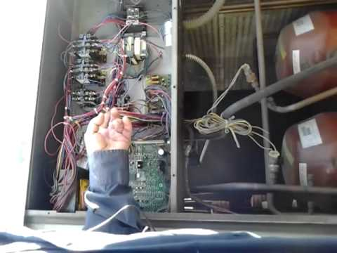 York Ac Wiring Diagram Package Unit Troubleshooting Youtube