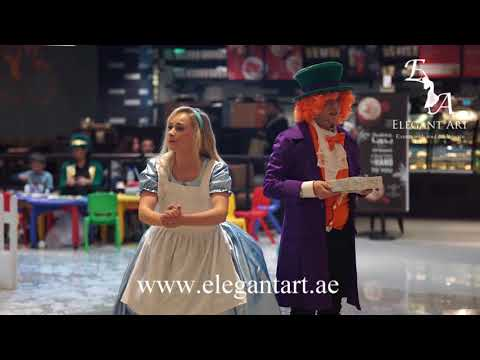 Alice in Wonderland - interactive show for kids in Dubai, Abu Dhabi by Elegant Art Events, UAE