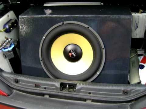subwoofer focal 40 kx test hifi car car audio bass. Black Bedroom Furniture Sets. Home Design Ideas