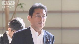 """日朝外相あす会談 速やかな""""拉致""""の報告求める(15/08/05)"""