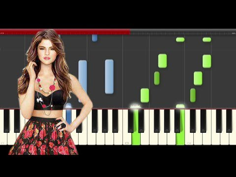 Selena Gomez Good For You (Piano Midi...