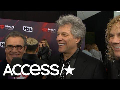 Jon Bon Jovi Talks iHeartRadio Music Awards Icon Honor: 'This is Like The Summer Of Celebration For