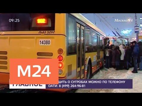 Дополнительные автобусы могут выйти на самые загруженные маршруты столицы - Москва 24