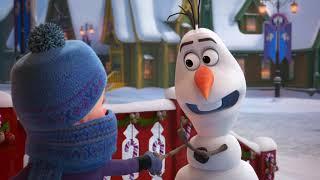 Frozen: Una aventura de Olaf | Olaf va en busca de tradiciones con Sven | Disney Junior España