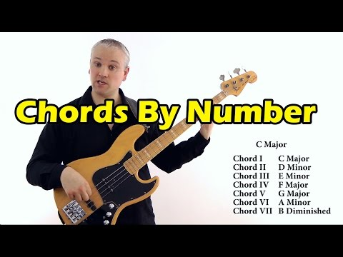 Learning Chords By Number