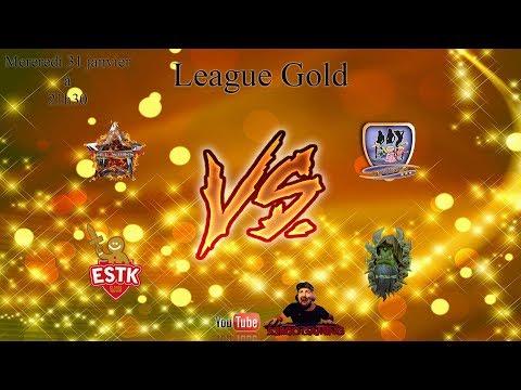 CCF league Gold All Star vs Chez claudine - X Troll AZ vs Elsass Tolvek