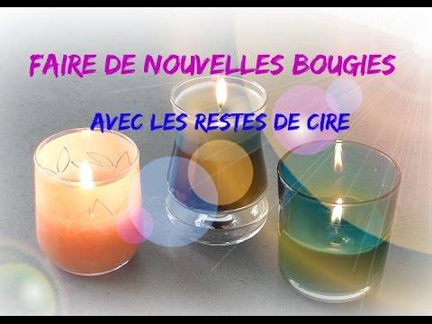 comment faire des bougies avec les restes de cire bougie 3 couleurs youtube. Black Bedroom Furniture Sets. Home Design Ideas