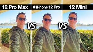 iPhone 12 Pro Max vs 12 Pro vs 12 Mini! Camera Test Comparison