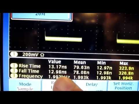 #96: Tutorial on Digital Oscilloscope sample rate, record length and data processing