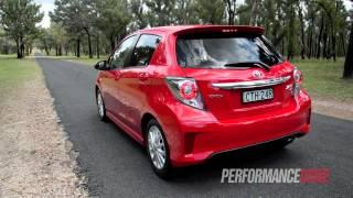 2015 Toyota Yaris ZR 0-100km/h & engine sound