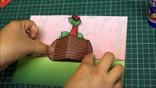 How to Make Chinese New Year Pop Up Card