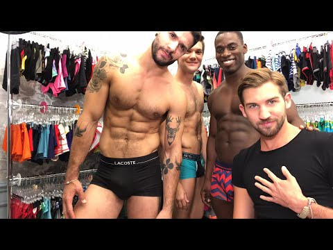 Trying On Underwear!