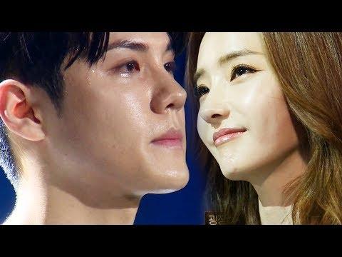 용주, 힘들었던 시간 털어내는 '눈물' @더 팬 1회 20181124 SBS
