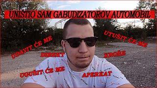 UNISTIO SAM GABUDIZATOROV AUTO (+ SNIMANJE RANGE ROVER EVOQUEA) #VLOG6